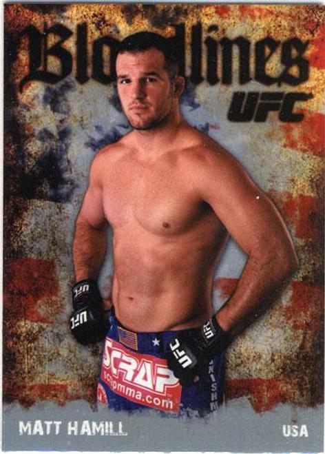 Topps UFC 2009 Round 2 Bloodlines Matt Hamill BL-24