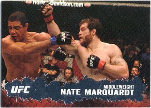 Topps UFC 2009 Round 2 Fighter Nate Marquardt #70