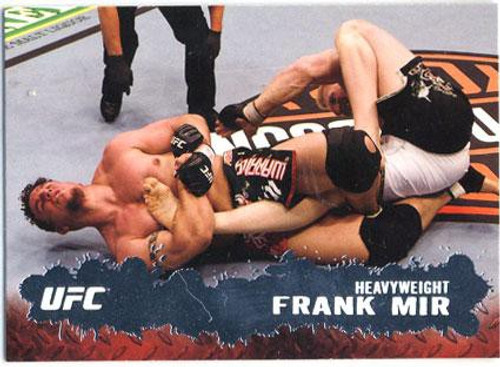 Topps UFC 2009 Round 2 Fighter Frank Mir #71