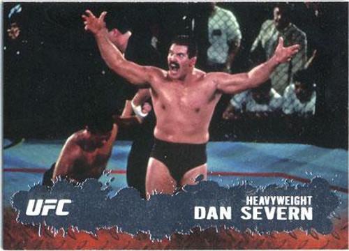 Topps UFC 2009 Round 2 Fighter Dan Severn #72