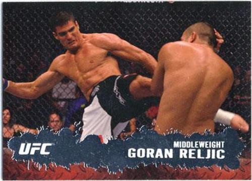 Topps UFC 2009 Round 2 Fighter Goran Reljic #76