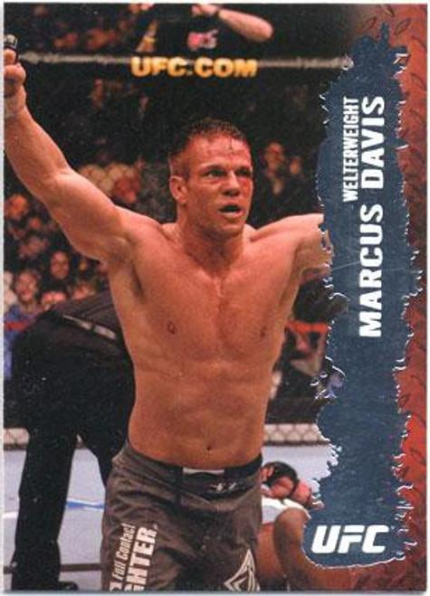 Topps UFC 2009 Round 2 Fighter Marcus Davis #77