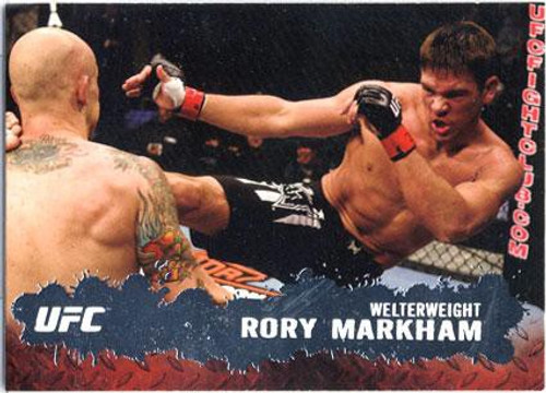 Topps UFC 2009 Round 2 Fighter Rory Markham #80