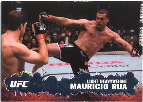 Topps UFC 2009 Round 2 Fighter Mauricio Rua #82