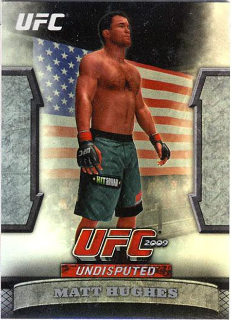 Topps UFC 2009 Round 2 Greats of the Game Matt Hughes GTG-8