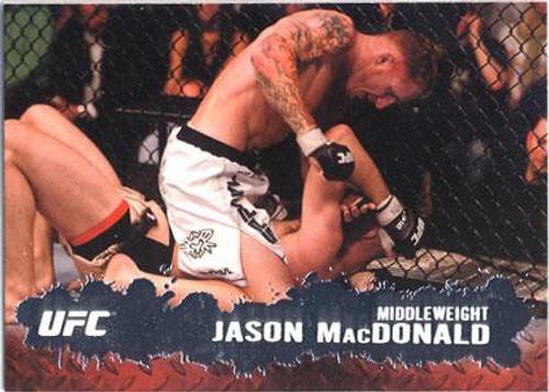 Topps UFC 2009 Round 2 Fighter Jason MacDonald #84