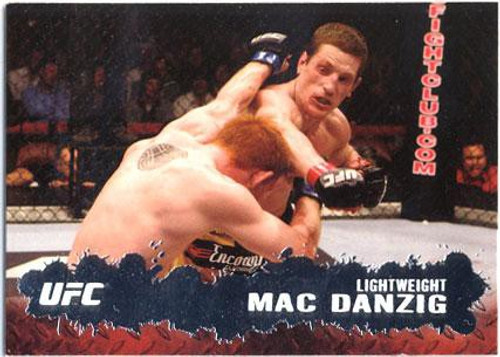 Topps UFC 2009 Round 2 Fighter Mac Danzig #85