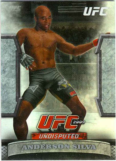Topps UFC 2009 Round 2 Greats of the Game Anderson Silva GTG-15