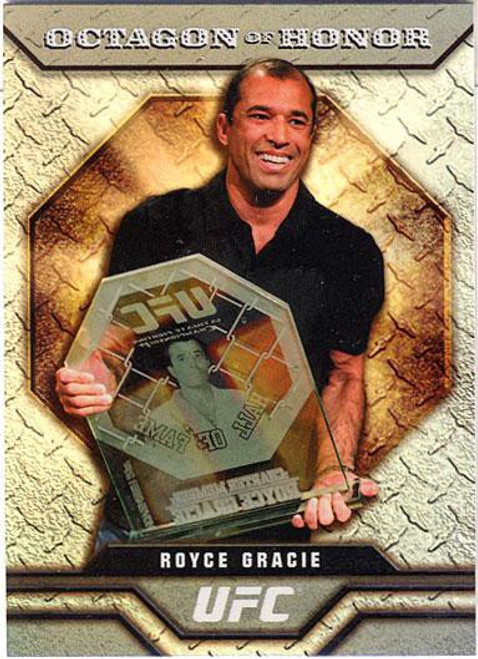 Topps UFC 2009 Round 2 Octagon of Honor Royce Gracie OOH-1
