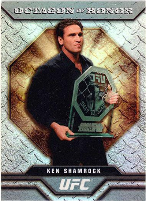 Topps UFC 2009 Round 2 Octagon of Honor Ken Shamrock OOH-2