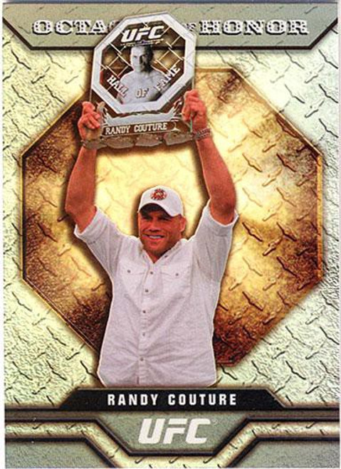 Topps UFC 2009 Round 2 Octagon of Honor Randy Couture OOH-4