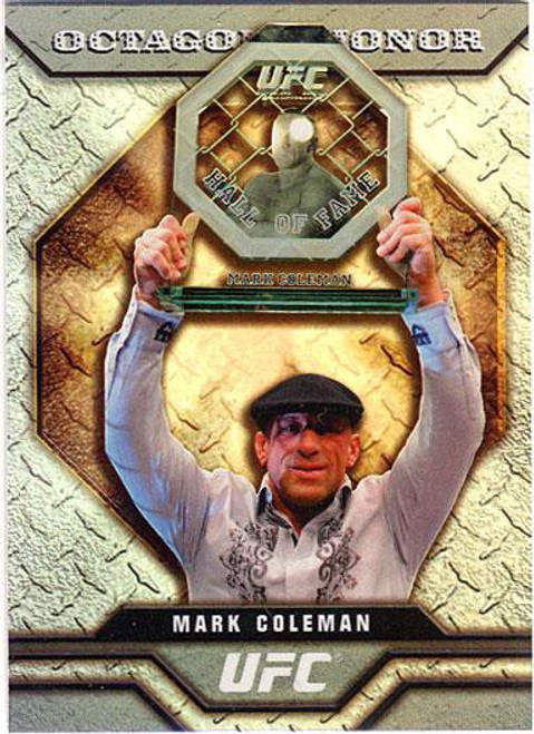 Topps UFC 2009 Round 2 Octagon of Honor Mark Coleman OOH-5