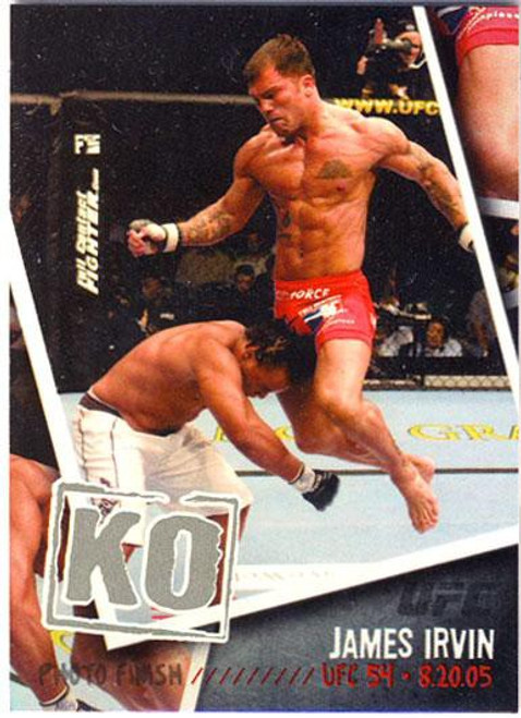 Topps UFC 2009 Round 2 Photo Finish James Irvin PF-1