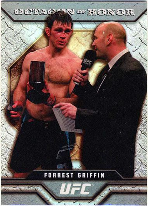 Topps UFC 2009 Round 2 Octagon of Honor Forrest Griffin OOH-9