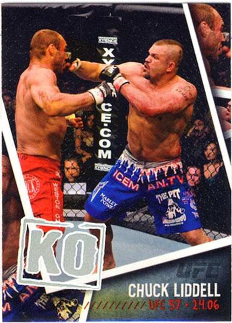 Topps UFC 2009 Round 2 Photo Finish Chuck Liddell PF-2