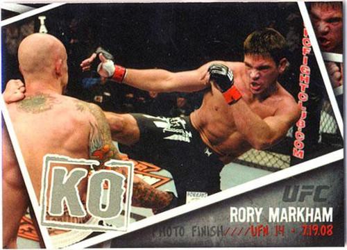 Topps UFC 2009 Round 2 Photo Finish Rory Markham PF-6