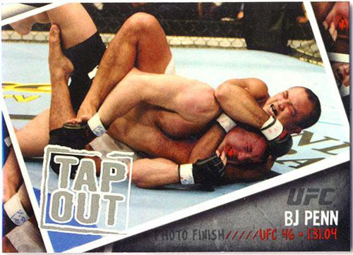 Topps UFC 2009 Round 2 Photo Finish BJ Penn PF-4