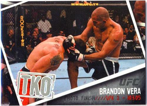 Topps UFC 2009 Round 2 Photo Finish Brandon Vera PF-7