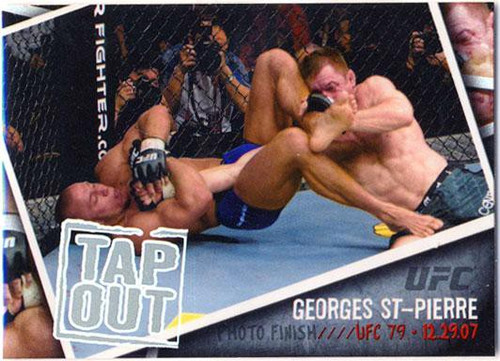 Topps UFC 2009 Round 2 Photo Finish Georges St Pierre PF-8