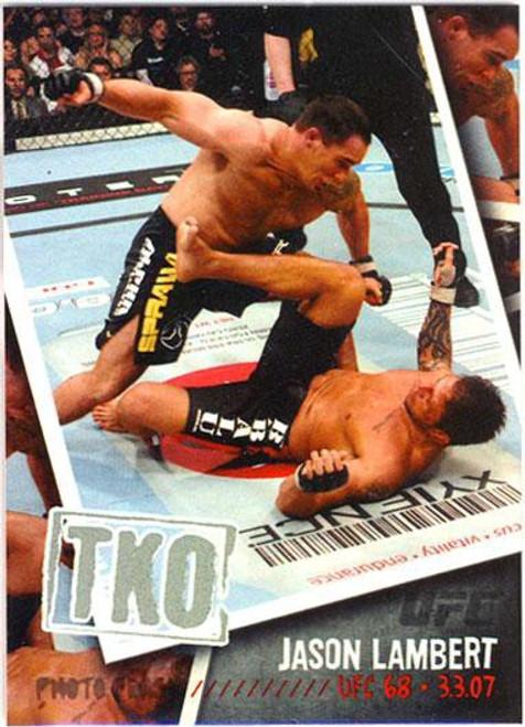 Topps UFC 2009 Round 2 Photo Finish Jason Lambert PF-9