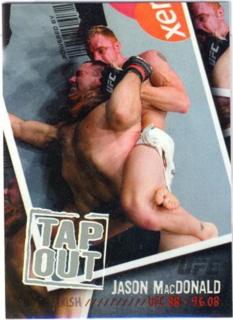 Topps UFC 2009 Round 2 Photo Finish Jason MacDonald PF-10