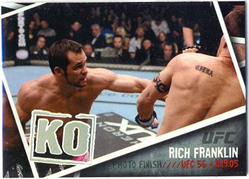 Topps UFC 2009 Round 2 Photo Finish Rich Franklin PF-12