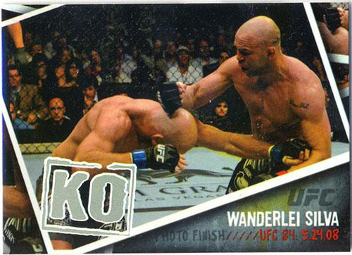 Topps UFC 2009 Round 2 Photo Finish Wanderlei Silva PF-15