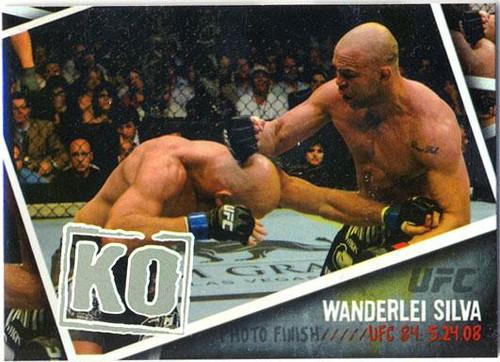 Topps UFC 2009 Round 2 Photo Finish Wanderlei Silva PF-15
