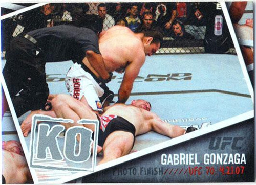 Topps UFC 2009 Round 2 Photo Finish Gabriel Gonzaga PF-14