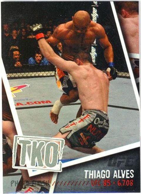 Topps UFC 2009 Round 2 Photo Finish Thiago Alves PF-16