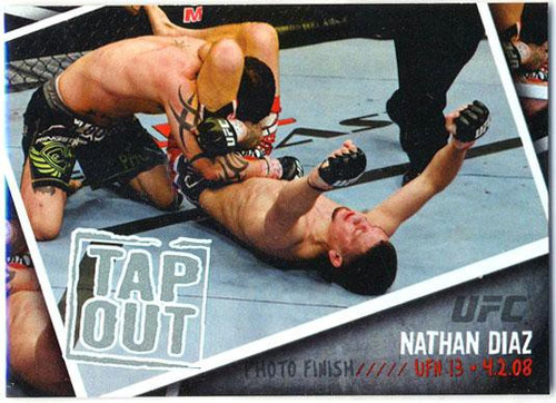 Topps UFC 2009 Round 2 Photo Finish Nathan Diaz PF-17