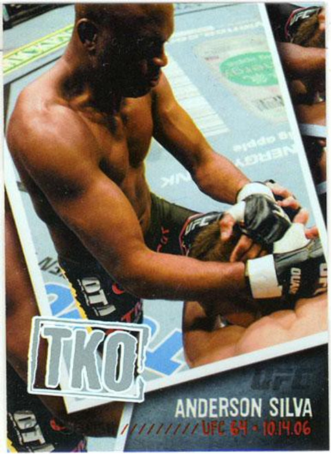 Topps UFC 2009 Round 2 Photo Finish Anderson Silva PF-20