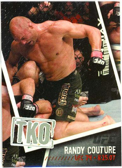 Topps UFC 2009 Round 2 Photo Finish Randy Couture PF-21