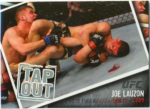 Topps UFC 2009 Round 2 Photo Finish Joe Lauzon PF-25