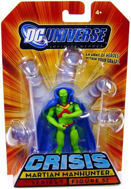 DC Universe Crisis Infinite Heroes Series 1 Martian Manhunter Action Figure #52