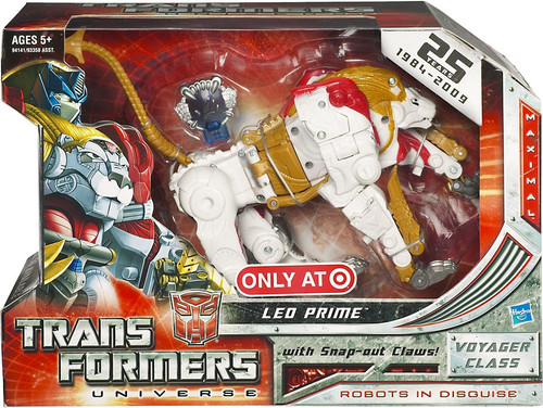 Transformers Universe Voyager Leo Prime Exclusive Voyager Action Figure