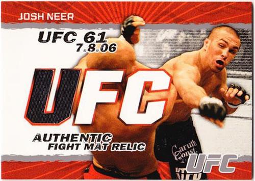 Topps UFC 2009 Round 2 Fight Mat Relic Josh Neer [UFC 61]