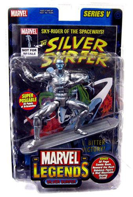 Marvel Legends Series 5 Silver Surfer Action Figure