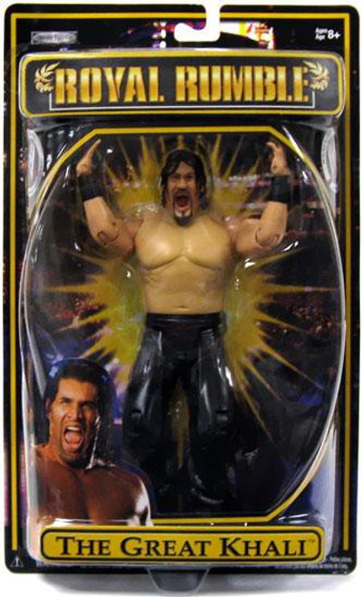 WWE Wrestling Pay Per View Royal Rumble 2009 The Great Khali Action Figure