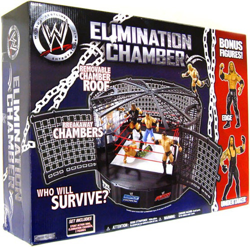 WWE Wrestling Playsets Elimination Chamber Exclusive Action Figure Playset