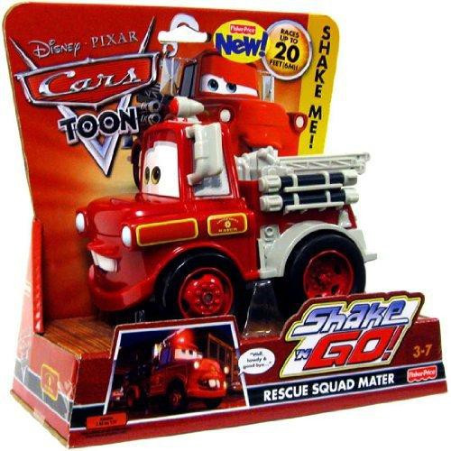 Disney / Pixar Cars Cars Toon Shake 'N Go Rescue Squad Mater Shake 'N Go Car