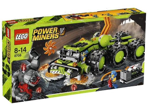 LEGO Power Miners Cave Crusher Exclusive Set #8708