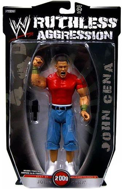 WWE Wrestling Ruthless Aggression Best of 2009 Series 1 John Cena Action Figure