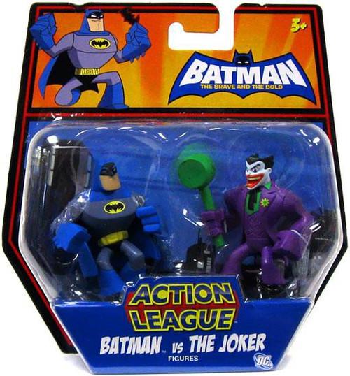 The Brave and the Bold Action League Batman vs.. The Joker Mini Figure 2-Pack