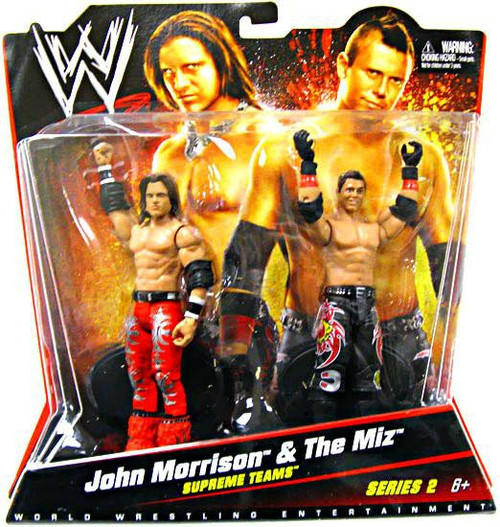 WWE Wrestling Battle Pack Series 2 John Morrison & The Miz Action Figure 2-Pack