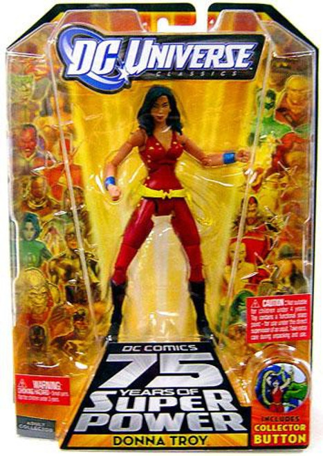 DC Universe 75 Years of Super Power Classics Trigon Series Donna Troy Action Figure