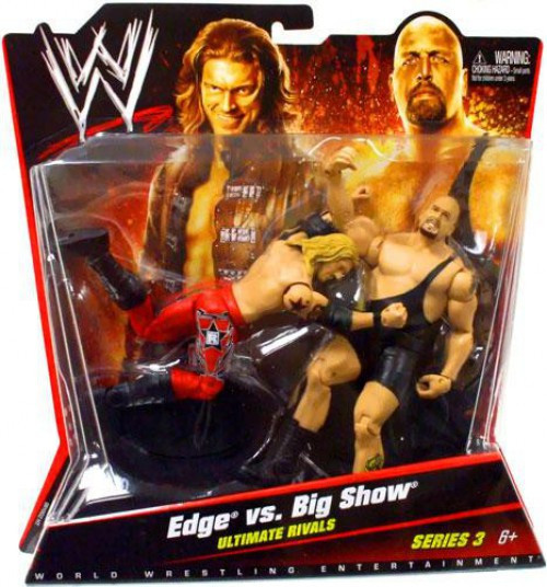WWE Wrestling Battle Pack Series 3 Edge & Big Show Action Figure 2-Pack