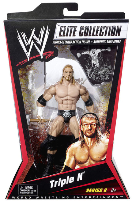 WWE Wrestling Elite Collection Series 2 Triple H Action Figure