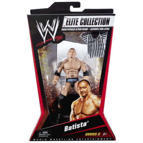 WWE Wrestling Elite Collection Series 2 Batista Action Figure