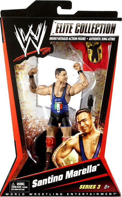 WWE Wrestling Elite Collection Series 3 Santino Marella Action Figure